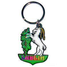 Elastic and soft rubber keychain with Goat of Lublin. Rubber Keychain, Gadgets, Keychains, Goats, Personalized Items, Keychain Ideas, Crests, Key Hangers, Key Rings
