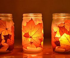 13 Autumn Leaf DIY Projects For Those Who Love Fall