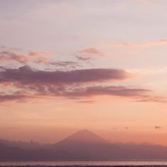 The view of Bali from Gili T!