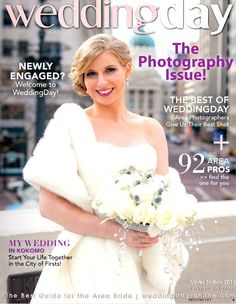 The G Michael Salon Design Team was honored to be asked by Wedding Day Magazine to create three GORGEOUS hairstyles for their 2013 Winter Edition. We absolutely LOVE working with this Top Bridal Magazine! Planning your 2013 Wedding now? Call G Michael Salon today to reserve your Bridal Party's Appointments as spots are filling fast, and we would LOVE to be a part of your special day! #weddinghair #weddinghairstyle #updo #upstyle #whitewedding #winterwedding #wedding #bride…