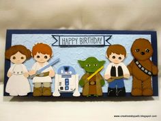 Creations by Patti - Star Wars punch art characters