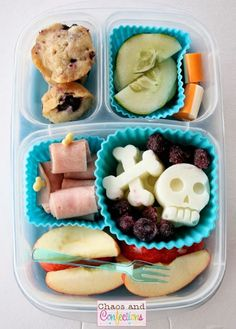 Other Pirate Lunches A #gluten-free, #soy-free, #nut-free, #peanut-free, #egg-free preschool lunch in @EasyLunchboxes box!