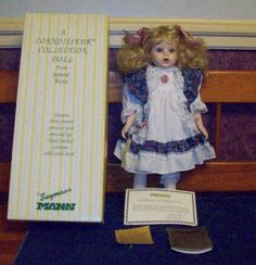 Other Dolls Dolls & Bears Generous Rare Ashton Drake Porcelain Doll The Tin Man Wizard Of Oz Collection 1994 Nib Pure White And Translucent