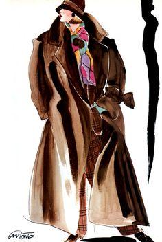 US Vogue June 1984 : Isabella Rossellini by Richard Avedon - Page 2 - the Fashion Spot 80s Fashion, Fashion Prints, Timeless Fashion, Fashion Art, Fashion Models, Fashion Beauty, Yves Saint Laurent, International Fashion Designers, Illustration Mode