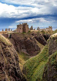 Dunnottar Castle, Scotland                                                                                                                                                      Mais