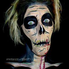 Pop Art Zombie - Makeup by Miranda
