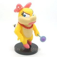 Super Mario Bros. Wendy .O 5-inch Mario Figures by bp. $9.99. Wendy O. size about 5 inch
