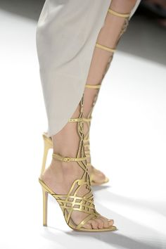 Wedding shoe inspiration / The LANE Ribbon Sandals, Shoes Sandals, Slide Sandals, Summer Boots, Summer Sandals, Killer Heels, Stiletto Shoes, Bridal Shoes, Elie Tahari
