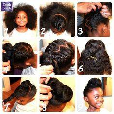 Tremendous Style Girls And For Kids On Pinterest Short Hairstyles For Black Women Fulllsitofus