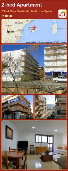 2-bed Apartment in S'Illot Cala Morlanda, Mallorca, Spain ►€140,000 #PropertyForSaleInSpain