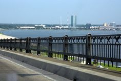 This Bridge is Packing Heat    Crossing Lake Charles Bay in Southern Louisiana.