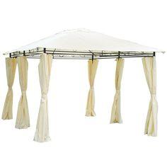 13/'x 10/' Gazebo Canopy Top Cover Replacement Garden Sun Shade UV Cover