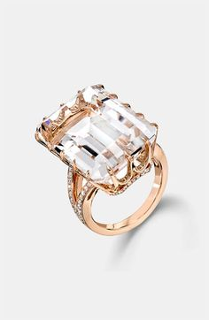 Ivanka Trump Rock Crystal Diamond Accent Ring available at Nordstrom  not as pricey as the real thing - for sure  4Kish