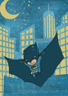 "When I was a child I would tell people ""when I grow up I want to be batman"""