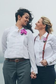 Steph Grant | 14 Pinterest Boards That'll Inspire Your Perfect Lesbian Wedding