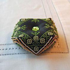Maggie Contemporary Blackwork Embroidery by RainburstEmbroidery