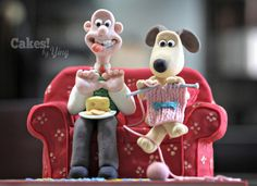 Cracking Wallace & Gromit Cake! - Cake by Cakes! by Ying