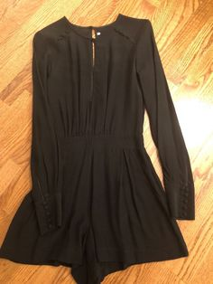 06873bb8e8d Extra Off Coupon So Cheap twelfth street by cynthia vincent Black Romper  Size P NWT