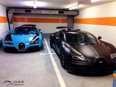 That black Bugatti..
