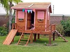 Cabane pour enfant en bois de r cup 39 diy palette cabane for Cabane au fond du jardin laurent gerra