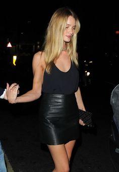 Rosie Huntington-Whiteley | Model Off Duty | Street Style