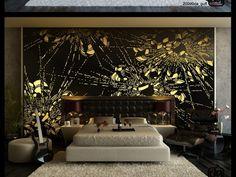 Bedroom Wall Decor Ideas for a classy Bedroom Bedroom Murals, Bedroom Wall, Wall Murals, Dream Bedroom, Decoration Bedroom, Home Decor Bedroom, Bedroom Ideas, Kids Bedroom, Bedroom Furniture