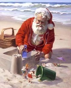 Steven blog: christmas on the beach