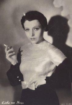 Käthe von Nagy Hungarian Silent Film Actress, circa late 1920s/30s