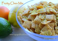 Big Rigs 'n Lil' Cookies: Fruity Chex Mix