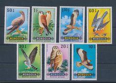 LC30796 Mongolia Animals Fauna Flora Birds Fine Lot MNH | eBay