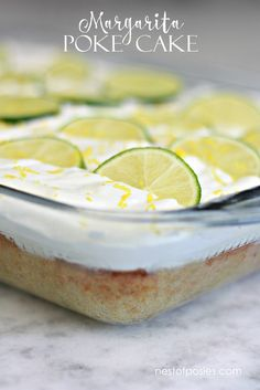 Poke Cake Recipe So incredibly good! Margarita Poke Cake (non alcoholic) - Perfect for Cinco De Mayo!So incredibly good! Margarita Poke Cake (non alcoholic) - Perfect for Cinco De Mayo! Authentic Mexican Recipes, Mini Desserts, Just Desserts, Delicious Desserts, Poke Cakes, Poke Cake Recipes, Poke Recipe, Bbq Pitmasters, Taco Bar
