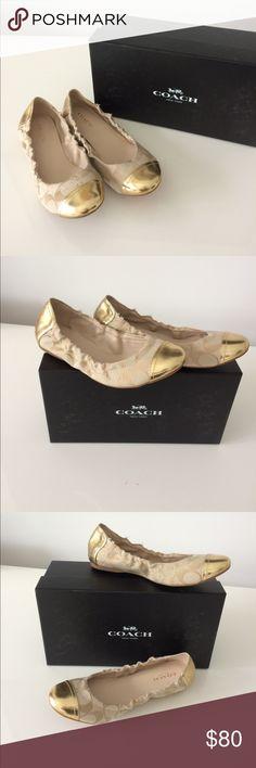COACH BALLET FLATS NWT SIZE 5.5 COACH BALLET FLATS NWT SIZE 5.5 Coach Shoes