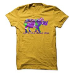 Save The Rhino Day T-Shirts, Hoodies, Sweatshirts, Tee Shirts (19$ ==> Shopping Now!)