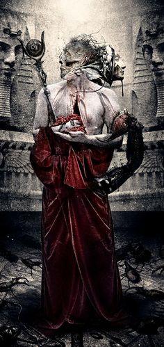 The Scorpio Priest (red edition) by Seth Siro Anton