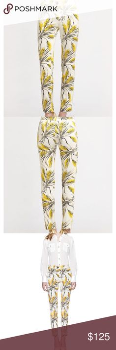 Tory Burch Sullivan Pant Tory Burch Lightweight floral print pant.  NWT Tory Burch Pants