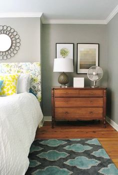 Rockport Grey paint... Yeaup. This is what my bedroom is going to look like! @falconkp