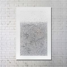 Contemporary Wall Art 3D Abstract Printing with Black Frame 32