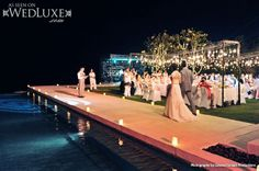 WedLuxe: #destination #wedding held in beautiful Bali (photo by: Edward Suhadi Productions)