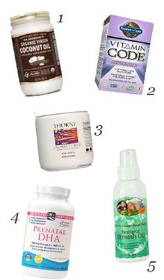 P is for Pregnancy: Body Products & Supplements - including Earth Mama Angel Baby Natural Stretch Oil