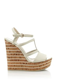 Gucci patent wedge