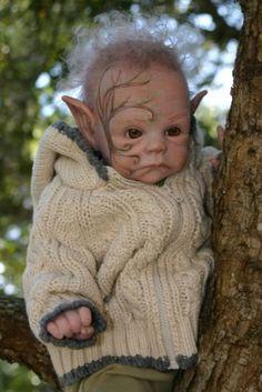 Um bebê elfo ^^