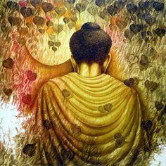 nityam singha roy paintings - Pesquisa Google Buddha Painting, Buddha Art, Fantasy Images, Fantasy Art, Chakra, Meditation Music, Indian Paintings, Watercolor Paintings, Watercolours