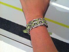 Soda tab ribbon bracelet by jayscreations23 on Etsy, $4.99
