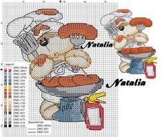 Cross Stitch Kitchen, Just Cross Stitch, Cross Stitch Bookmarks, Cross Stitch Needles, Cross Stitch Cards, Cross Stitch Baby, Cross Stitching, Modern Cross Stitch Patterns, Counted Cross Stitch Patterns
