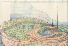 Baghdad Could Have Been a Mega-City by Frank Lloyd Wright - The Unbuilt Environment - Curbed National