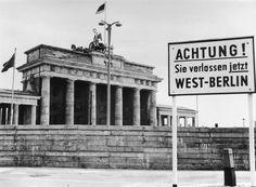 Die Berliner Mauer – die Vorher-Nachher-Galerie