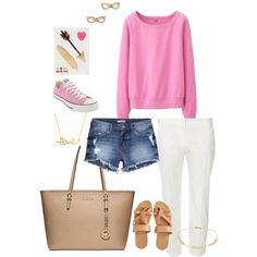 Chilled Sunday by zoe-jordan on Polyvore featuring polyvore, fashion, style, Uniqlo, Dorothy Perkins, H&M, Converse, Michael Kors, Kate Spade, Minnie Grace and Aéropostale