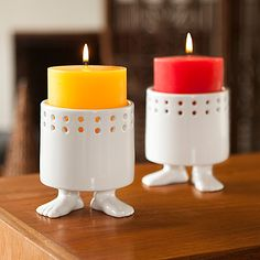 Look what I found at UncommonGoods: footed candle holder... for $18 #uncommongoods