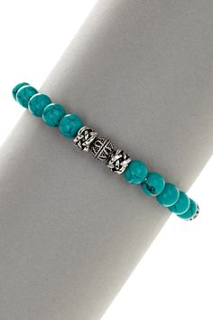 Turquoise Beaded Bracelet                                                                                                                                                                                 More