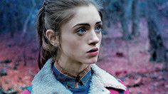 ♔ NATALIA DYER GIF HUNT ♔ Under the cut, you will find small/medium, HQ gifs of Natalia Dyer. Mostly from her role as Nancy Wheeler in Stranger things. Just Love, Love Her, As Nancy, Nancy Wheeler, Wattpad, Post Apocalypse, Aesthetic Gif, The Marauders, Hair Photo